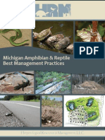 Michigan Amphibian and Reptile Best Management Practices 2014
