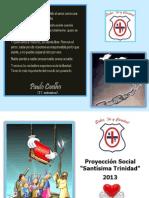Proyección Social Mayo 2013