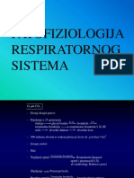 Patofiziologija Respiratornog Sistema