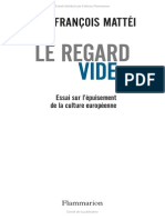 Le Regard Vide - Jean-francois Mattei