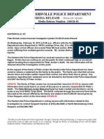 Homicide Media Release UPDATE 3-26-2014