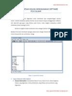 6 Langkah Desain Kolom Menggunakan Software Pca Column1