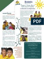 La Escuela Los Algarrobos Newsletter March 2014 Spanish