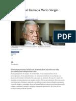 Un Liberal, Mario Vargas Llosa