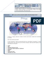 CLASS FORMAT 9º AXIS 3 BIOMES, WHEATHER PATTERNS IN THE PLANET AND BIODIVERSITY