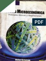 Teoría Microeconómica - 8va Edición - Walter Nicholson