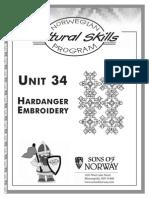Cs 34y Hardinger-embroidery