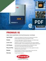 Fronius 3000 Ig