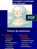 CURSUL VI CUM Diagnosticul Imagistic Al Patologiei Osteo-Articulare.