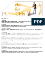 Books for Girls