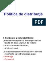 Politica de Distributie