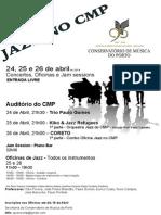 Jazz no CMP mais informação
