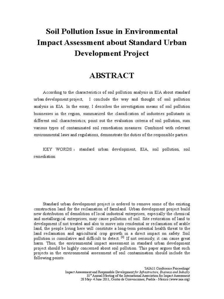 Soil 1 Year Mba Of Soil Pollution Essay Autism Psychology Essay Essay