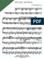 American Patrol Op.92 Piano