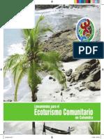 Libro Ecoturismo Comunitario