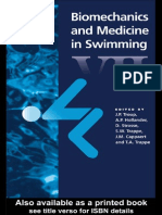 Biomechanics & Medicine in Swimming VII