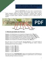 Cartel Trayecto Metrobus