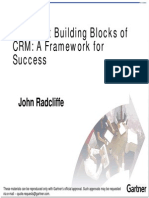 The Eight Building Blocks of Crm a Framework for Successful Crm