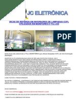 9623 Reparacion Inverters CCFL en Monitores-TV Backlight