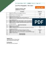 Antenna & Wave Propagation - COM311 - New
