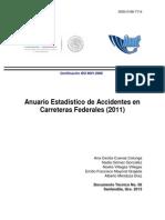 dt56 Anuario Estadístico de Accidentes 2011