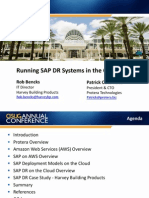AWS - Running SAP DR Systems in the Cloud
