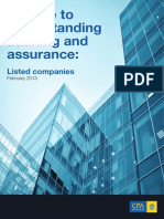 Guide Understanding Audit Assurance