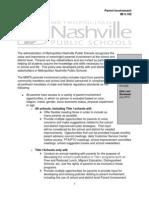 2012 parent involvement policy