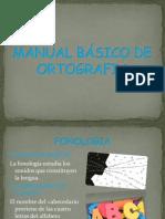 MANUAL BÁSICO DE ORTOGRAFIA