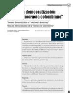 Dialnet-HaciaUnaDemocratizacionDeLaDemocraciaColombiana-3884519