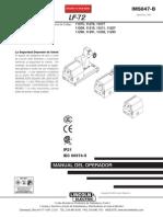 manual de alimentador lf 72 en español