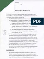 Complaint Affidavit Graft Case vs Senate President Drilon Et Al over anomalous Esplanade II project in Iloilo City.
