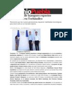 14-03-2014 Sexenio Puebla - Moreno Valle inaugura espacios educativos en Tochimilco.