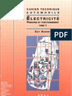 3-Cahier Technique Automobile - Electricité T1