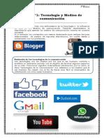 Tecnología y Medios de comunicación.docx guia de contenidos 8°basico