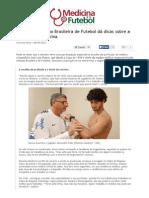 Medicina e Futebol_dicas do médico da Seleção