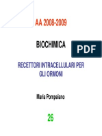 Recettori Intracellulari