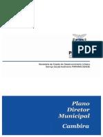 Plano Diretor Municipal de Cambira Volume Final