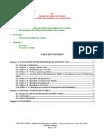 Analyse des tableau de résultat les soldes intermédiaires de gestion