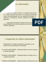 Cultura Informatiei 2013