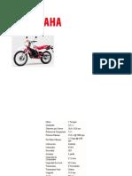 Yamaha DT 125 D