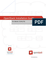 Openstack Install Guide Apt Trunk