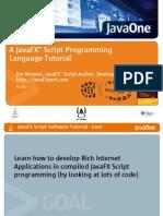 JavaFx Tutorials