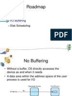Buffering Scheduling