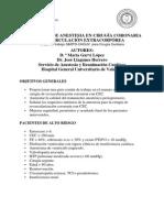 Protocolo Anest Cir Cor Con Cir Extracorp James