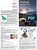 Printout February 2014