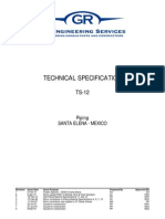Ts12 Technical Specification - Piping