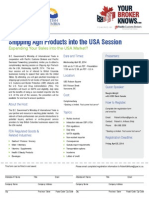 Thinking to export to the USA .  Do you know your FDA rules?