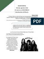 Articulo El DEATH METAL
