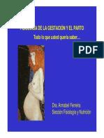 Fisiologia de La Gestacion